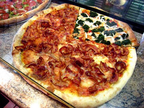 Bacon Pizza…Hallelujah!