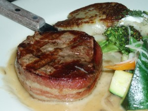 Roy's Bacon-Wrapped Filet
