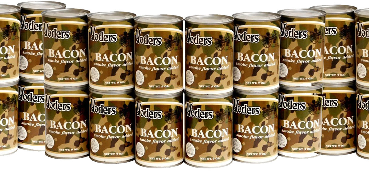 Bacon in a Can