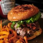 Chocolate Bacon Cheeseburger