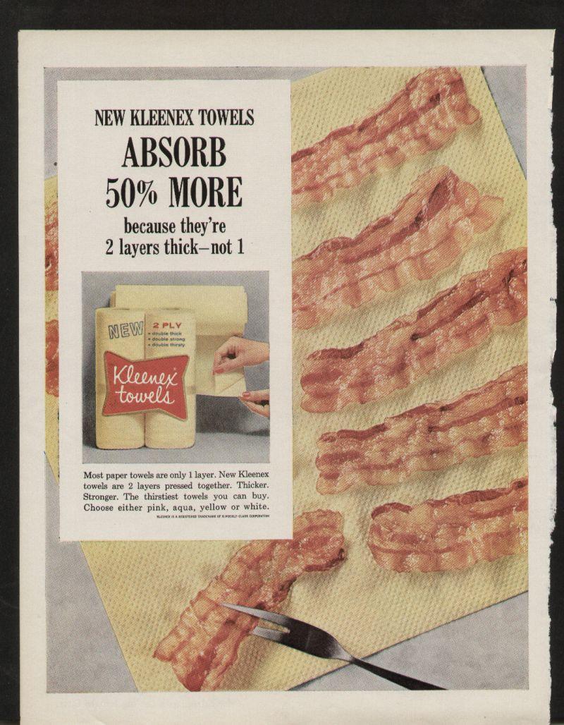 Bacon + Kleenex = No problem!
