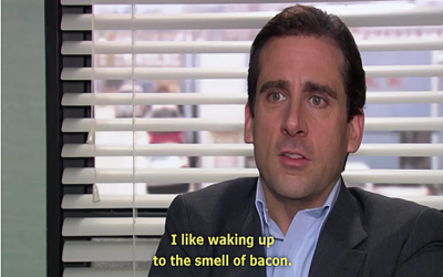 Top 10 Quotes About Bacon From Television