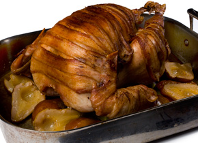 Bacon-Wrapped Thanksgiving