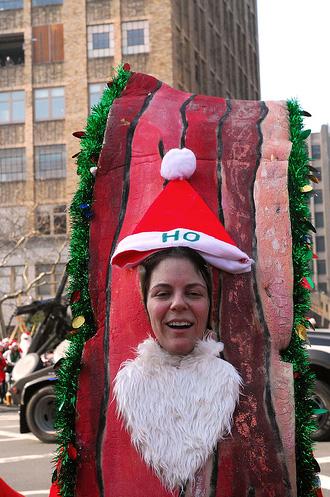 Bacon Santa