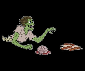 Bacon Haikus and Zombies