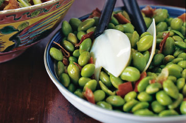 Bacon Edamame