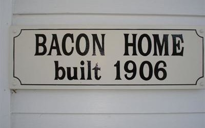 Historic Home for Sale…Must Love Bacon