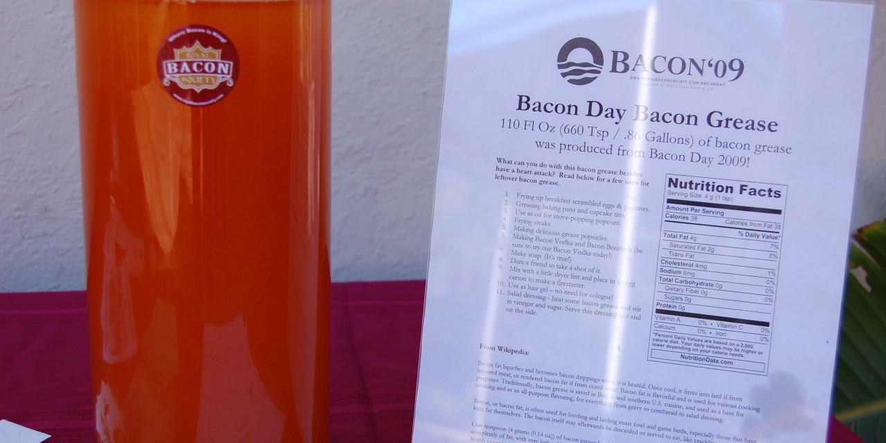 La Piece de Resistance: The Bacon Grease Jar