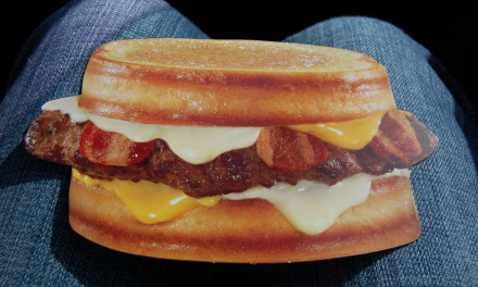 Carl's Junior's Grilled Cheese Bacon Burger