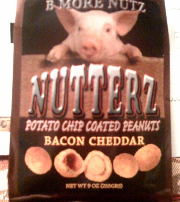 Part nut, part chip, all bacon-flavored