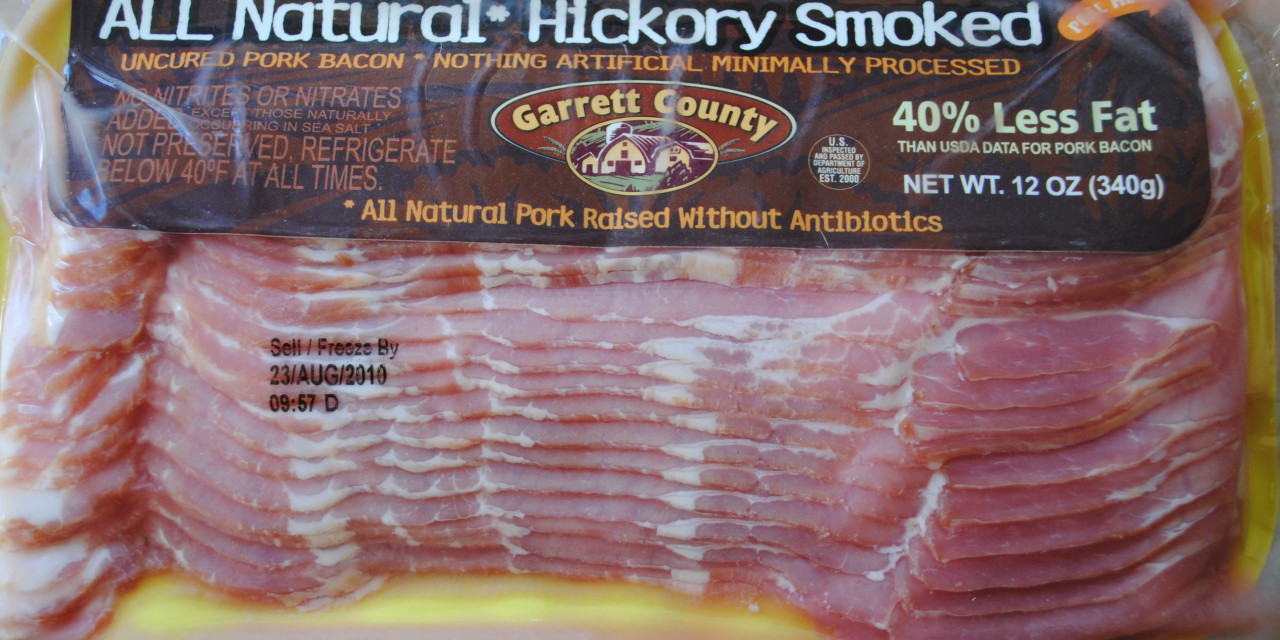 Garrett County Hickory Bacon
