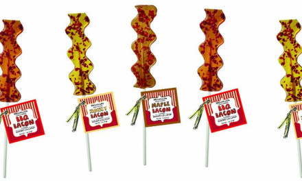 More bacon lollipops…and other zany things