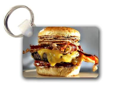 Bacon-Cheeseburger-Keychain-Key-Chain-Great-Gift-Idea-0