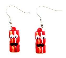 Bacon-Earrings-with-Google-Eyes-and-Mustache-2-0