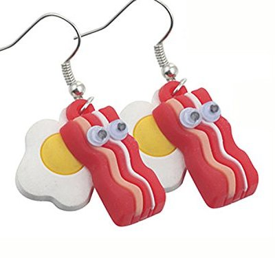 Bacon-Egg-Earring-Meat-Lovers-Dangle-Charm-Bacon-Earrings-0