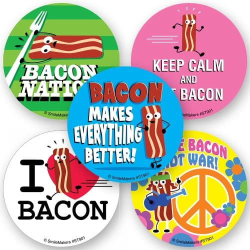 Bacon Scented Stickers ...