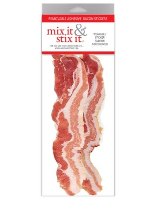 Bacon-Slices-Removable-Adhesive-Sticker-Pack-2-Bacon-Stickers-per-Pack-0