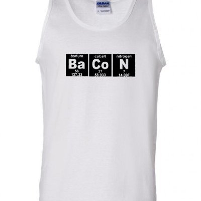 Bacon-Strips-Elements-Periodic-Table-Adult-Tank-Top-XX-Large-White-wBlack-0