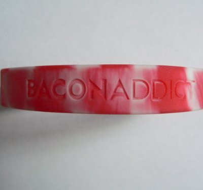 Bacon-Wristband-Bacon-Addict-Silicone-Wrist-Band-Rubber-Bracelet-0