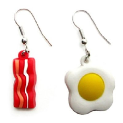 Bacon-and-Eggs-Dangle-Earrings-Breakfast-Food-0
