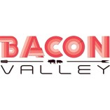 Bacon-valley-Mens-Medium-White-Graphic-Crew-Sweatshirt-Design-By-Humans-0-0