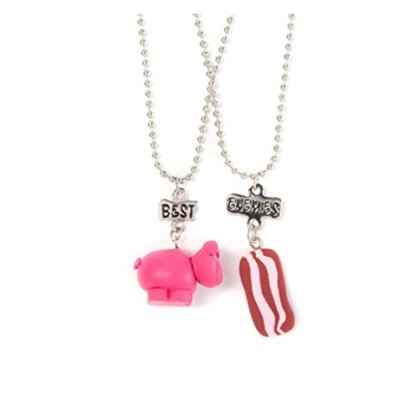 Best-Enemies-Pendant-Necklaces-Pig-and-Bacon-0