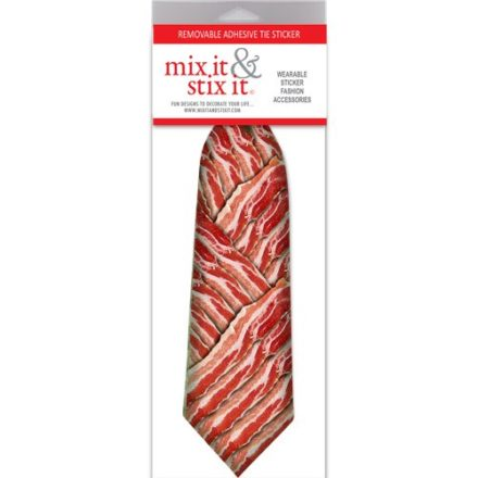 Bring-Home-the-Bacon-Removable-Adhesive-Tie-Sticker-Fun-Gift-Idea-0