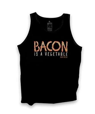Bulky-Boy-Mens-Bacon-is-a-Vegetable-Tank-Top-XXXX-Large-Black-0