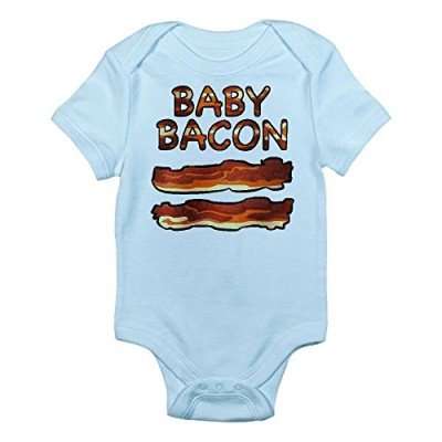 CafePress-Baby-Bacon-Infant-Bodysuit-6-12M-Sky-Blue-0