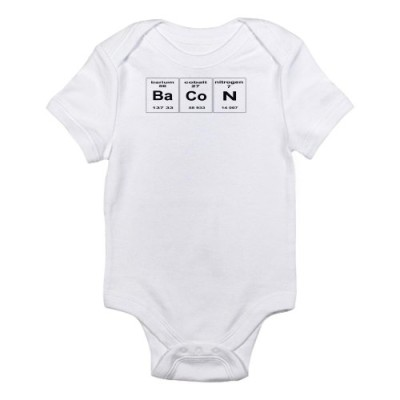 CafePress-Bacon-elements-Infant-Bodysuit-0-3M-Cloud-White-0