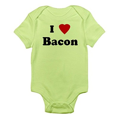 CafePress-I-Love-Bacon-Infant-Bodysuit-0-3M-Kiwi-0