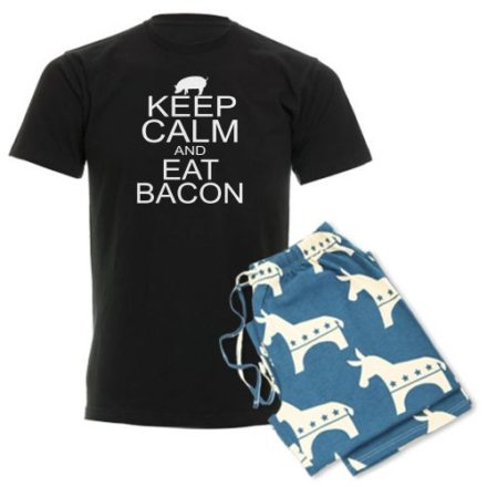 CafePress-Keep-Calm-and-Eat-Bacon-Mens-Dark-Pajamas-Mens-Dark-Pajamas-L-With-Democrat-Pant-0