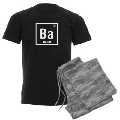 CafePress-Periodic-Element-of-Bacon-Pajamas-Mens-Dark-Pajamas-L-With-Grey-Camo-Pant-0