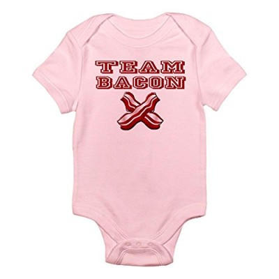CafePress-TEAM-BACON-Infant-Bodysuit-3-6M-Petal-Pink-0