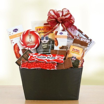 California-Delicious-Bacon-Lovers-Gourmet-Gift-Basket-0