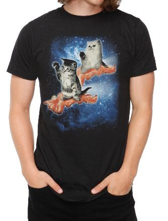 Cats-Bacon-T-Shirt-Size-Medium-0
