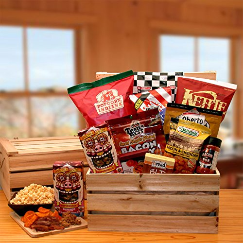 The bacon lovers gourmet gift crate royal society