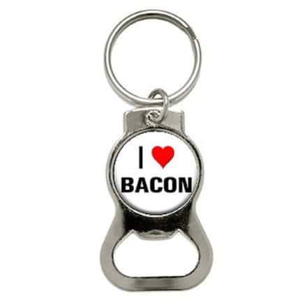 Graphics-and-More-I-Love-Heart-Bacon-Bottle-Cap-Opener-Keychain-KB0418-0