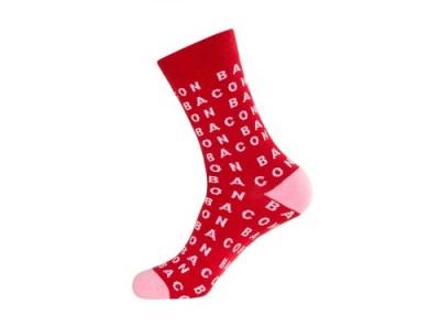 Gumball-Poodle-Unisex-Bacon-Crew-Socks-0
