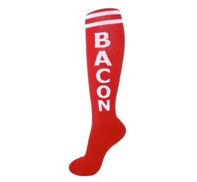 Gumball-Poodle-Unisex-Bacon-Retro-Knee-High-Tube-Socks-0