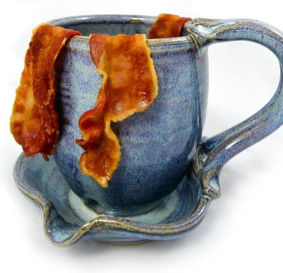 Hand-Sculpted-Stoneware-Microwave-Bacon-Cooker-Mug-Made-in-USA-French-Blue-0