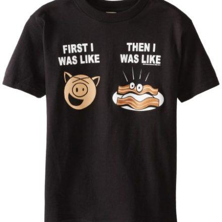 Hybrid-Big-Boys-Like-Bacon-T-Shirt-Black-Small-0