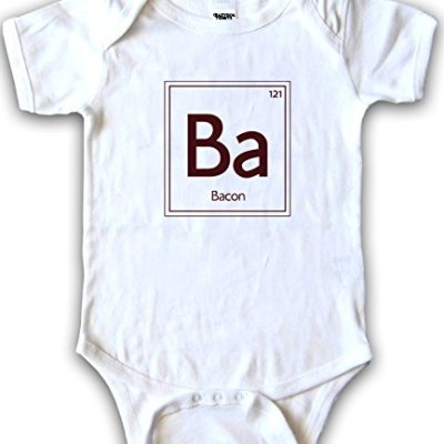 Infants-Periodic-Element-of-Bacon-One-Piece-Romper-Funny-Chemistry-Creeper-12mos-0