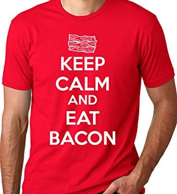 Keep-Calm-And-Eat-Bacon-T-Shirt-Funny-Bacon-Shirt-Bacon-Lovers-Tee-0