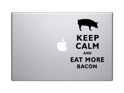 Keep-Calm-and-Eat-More-Bacon-Pig-Silhouette-Macbook-Symbol-Keypad-Iphone-Apple-Ipad-Decal-Skin-Sticker-Laptop-0