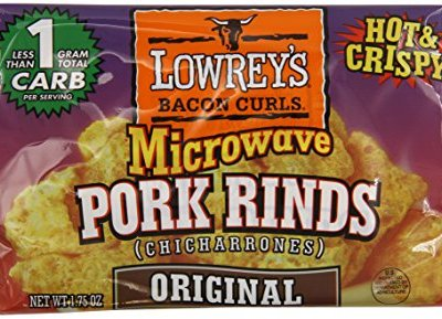 Lowreys-Bacon-Curls-microwave-Pork-Rinds-chicharrones-original-175-Ounce-Packages-18-Count-0