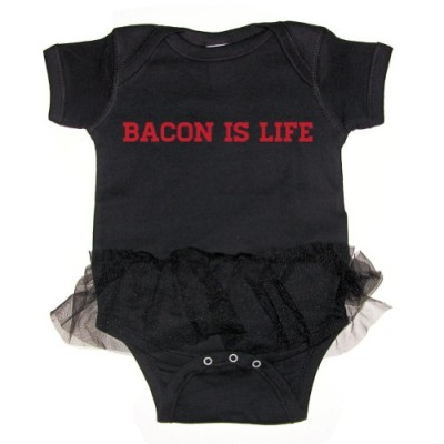 Mashed-Clothing-Bacon-is-Life-Baby-Tutu-Bodysuit-Black-6-Months-0