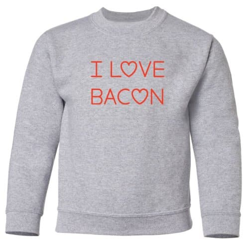 Mashed-Clothing-I-Love-Bacon-Kids-Sweatshirt-Sport-Grey-Kids-Medium-0