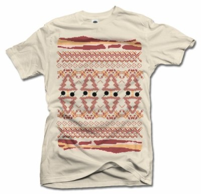 Mens-Ugly-Bacon-Christmas-Sweater-Large-Sand-T-Shirt-0