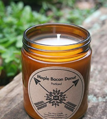 PORTLAND-Maple-Bacon-Donut-9oz-Soy-Wax-Candles-0